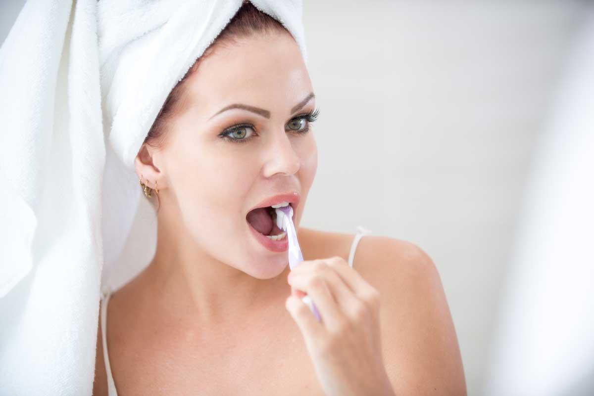 Uso corretto dello spazzolino da denti